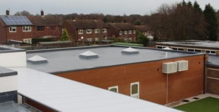 Will a flat roof repair be sufficient?